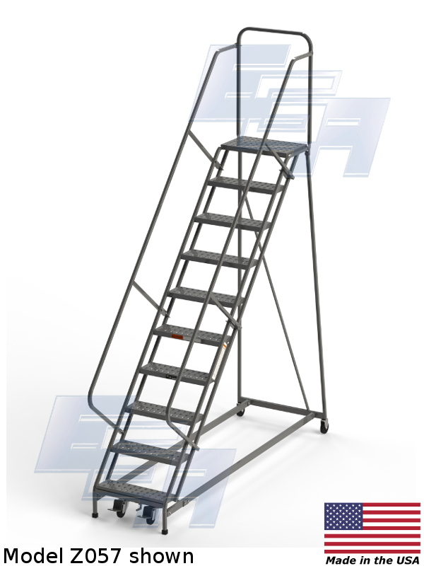 model z057 ega rolling ladder