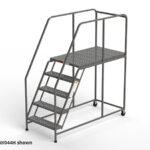 W044H-five-step-rolling-ladder-work-platform