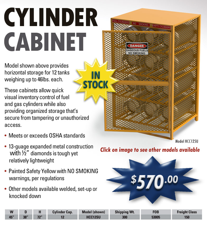Cylinder Cabinets - EGA Products, Inc