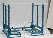 Custom shipping racks