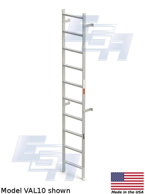 Vertical Wall Mount Ladders