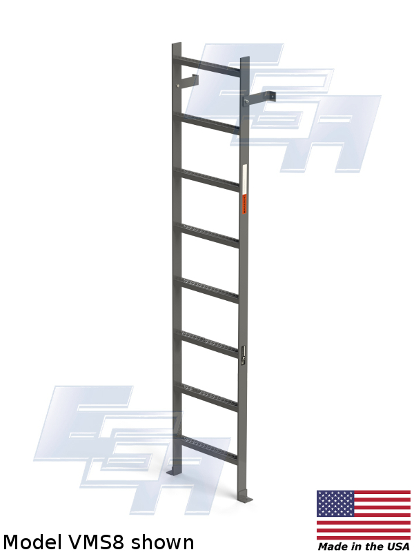 american made fixed ladder