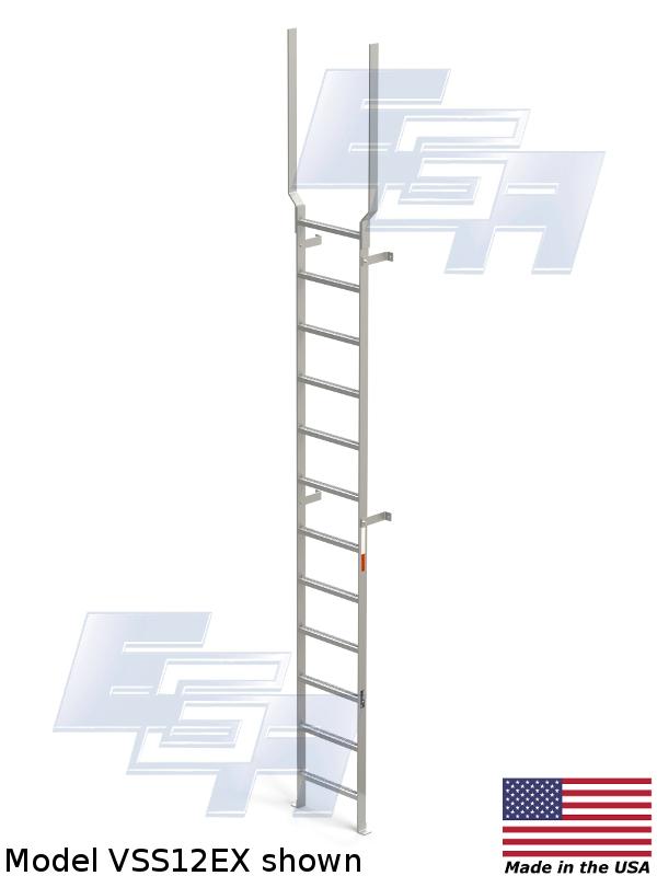 wall mount ladder