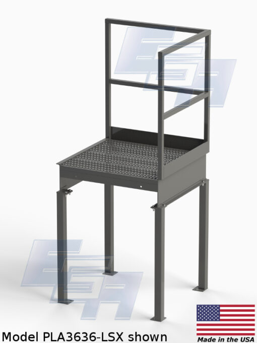 Stairway Platforms (PLA – SERIES) [Made in the USA]
