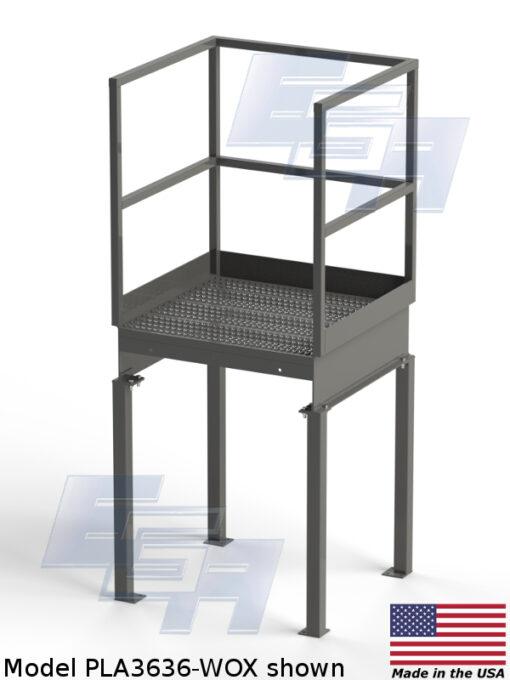 Industrial Stairways Platform – WOX