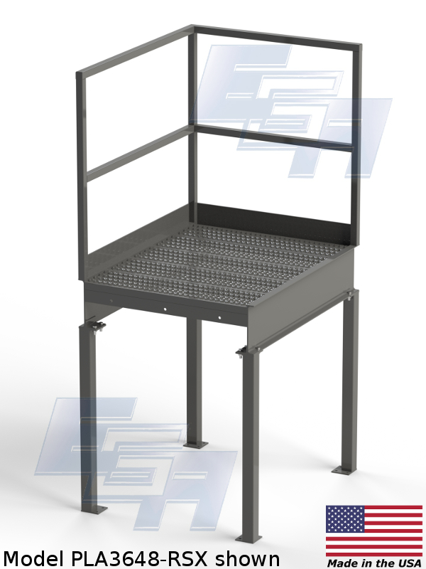 pla3648-rsx custom work platform by ega