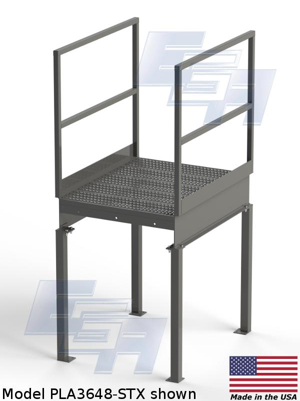 pla3648-stx custom work platform by ega