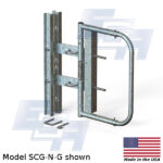 EGA Products industrial swing gate SCG-N-G Galvanized