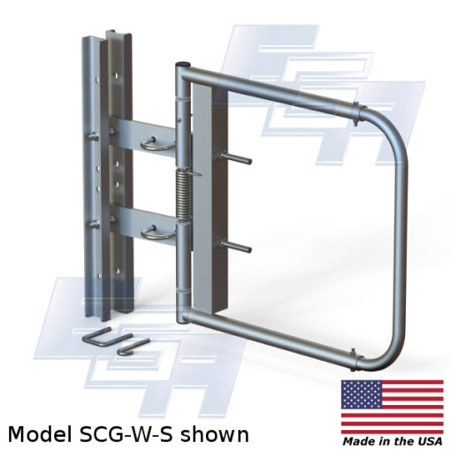 Stainless Steel Safety Gate | Wide Opening (24″ – 40″ Wide)