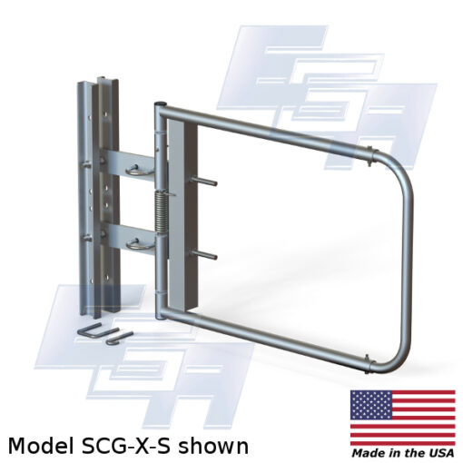 Stainless Steel Safety Gate | Extra Wide Opening (40″ – 48″ Wide)