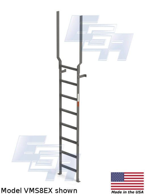 Vertical Wall Mount Ladders [Made in USA]