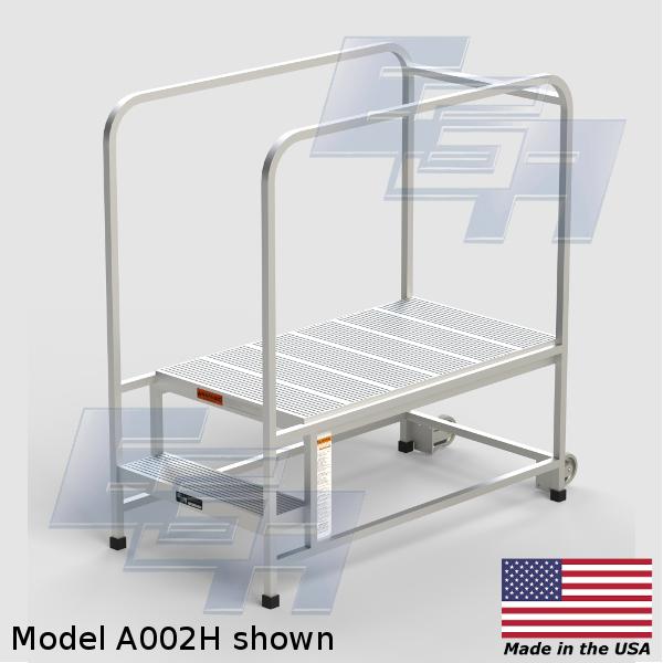 2-a2442hsu-a002h aluminum work platform portable