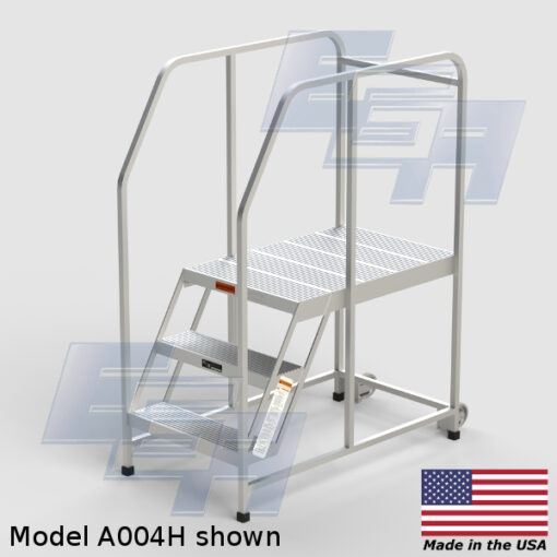 Mobile Aluminum Work Platforms ∠60º (A – SERIES) [Made in the USA]