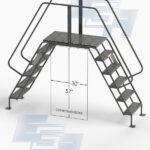 ladder platform cross over