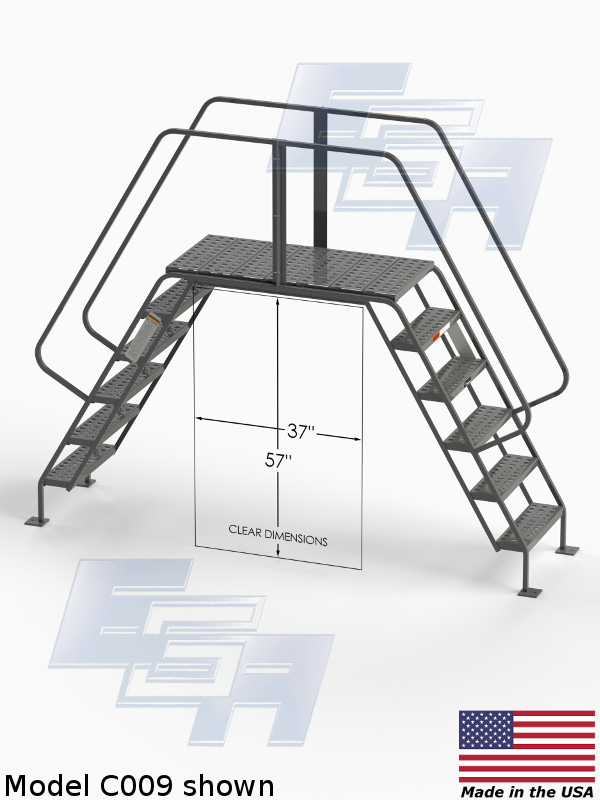 ladder platform corss over