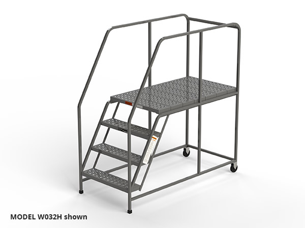 Mobile Work Platforms Ezy Tread Made In Usa W032h