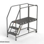 W034H-industrial-rolling-ladder-deep-work-platform
