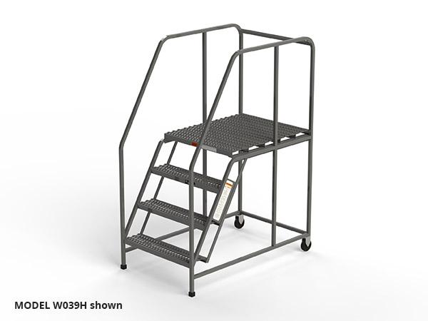 W039H-4-step-grip-strut-work-platform
