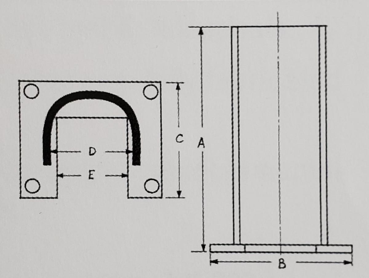 ega pallet rack rack post protector dimension guide