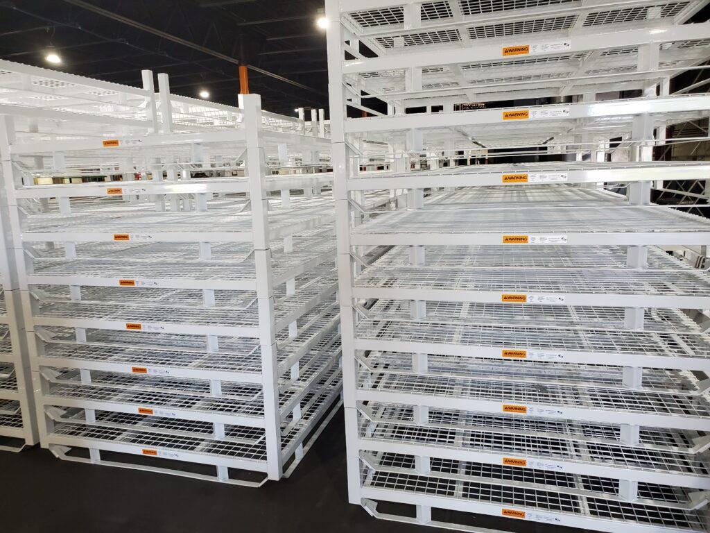 shipping pallet racks