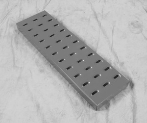 Rolling Ladder Perforated EZY Tread from EGA Products