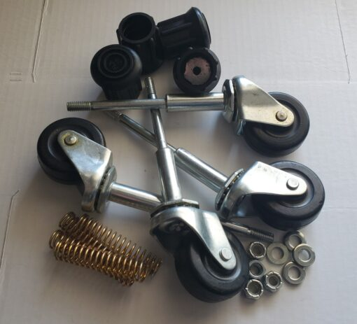 Ladder Replacement Casters Kits – Old Model 2″