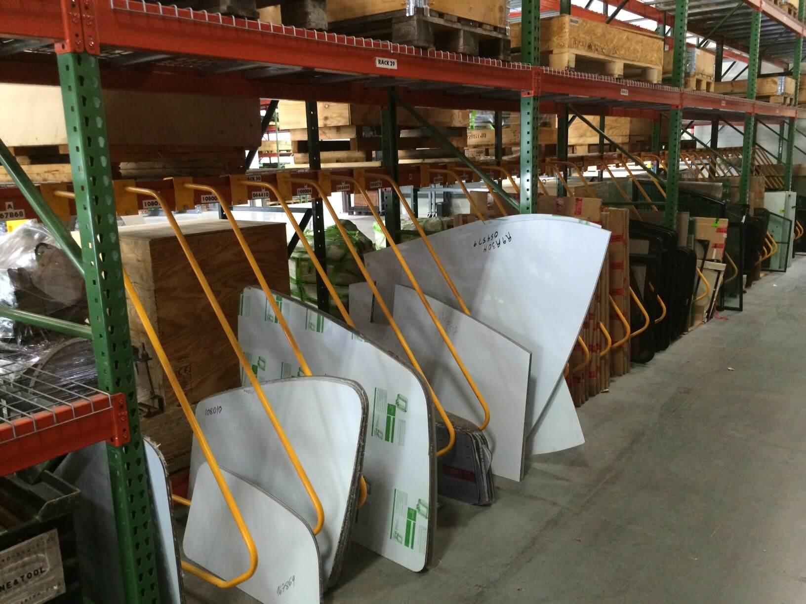 Pallet Rack Bay D Divider by EGA Products