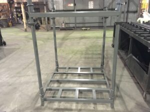 Fold Down Portable Stacking Rack by EGA Products