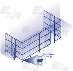 quick erect fence gate fittings