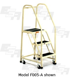 Office Ladders ∠60º (F – SERIES) [Made in the USA]