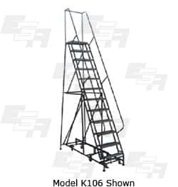 super tall rolling ladder