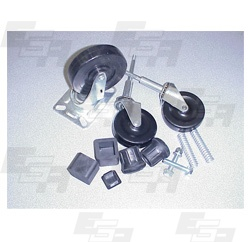 rolling ladder caster wheel parts