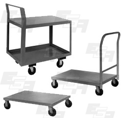 steel warehouse carts