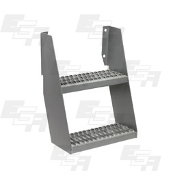 two step wall mount ladder ega products