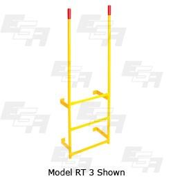 warehouse dock ladder