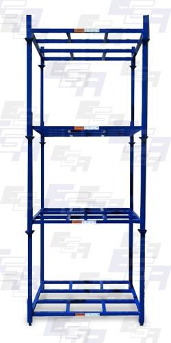 Blue Material Handling Rack Pallet Racking ...